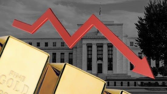 Giá vàng ngày 13/3: Chìm nghỉm dưới lượng tiền khủng từ Fed