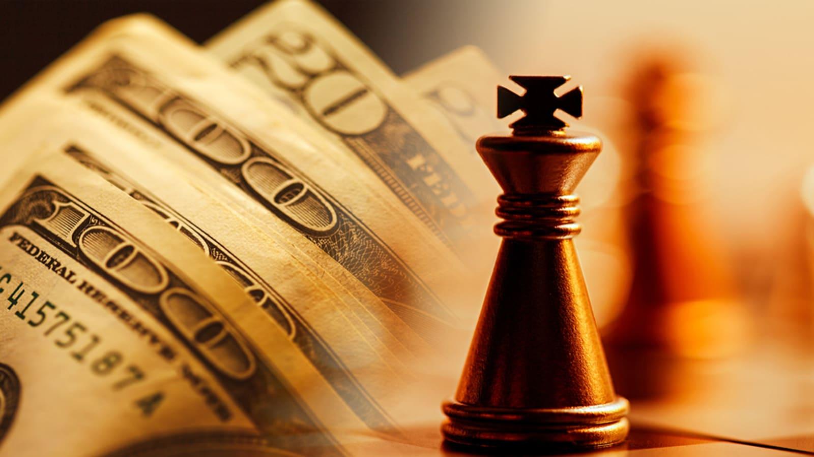 Chứng khoán giảm mạnh và sự lên ngôi của đô la Mỹ