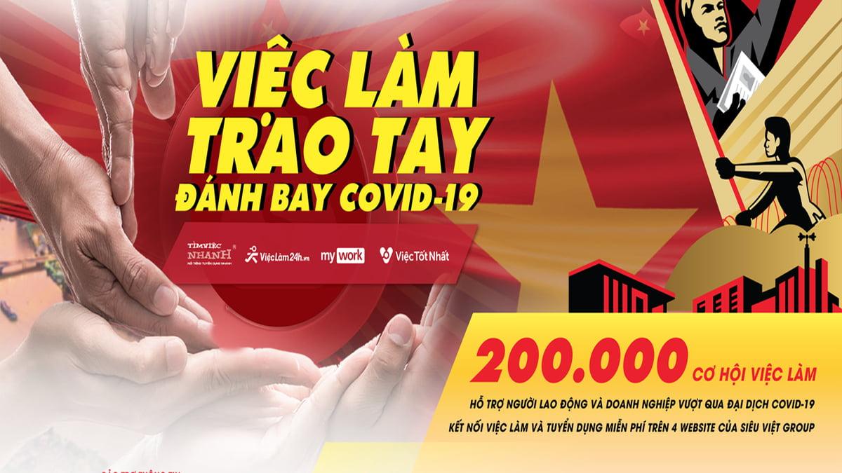 200.000 cơ hội việc làm mùa dịch Covid-19
