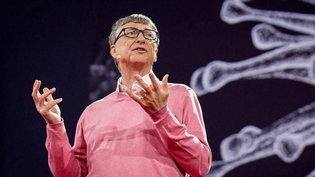 Tỷ phú Bill Gates.