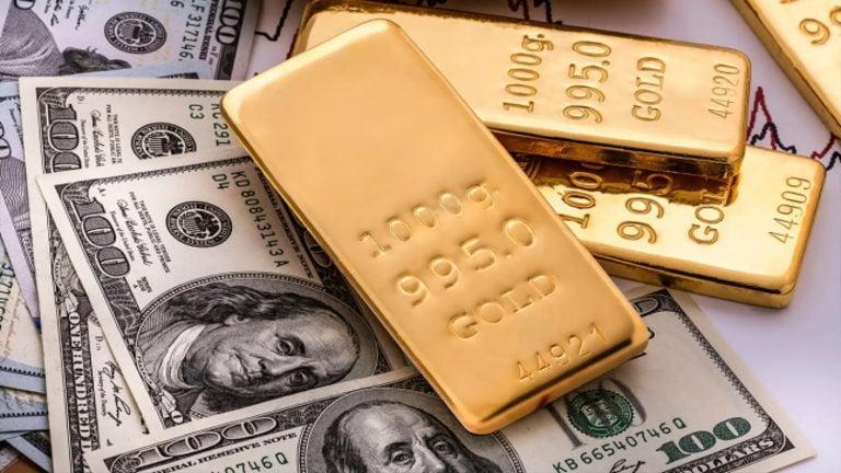 Giá vàng ngày 17/4: Bị đô la ép về ngưỡng hỗ trợ 1.700 USD/oz