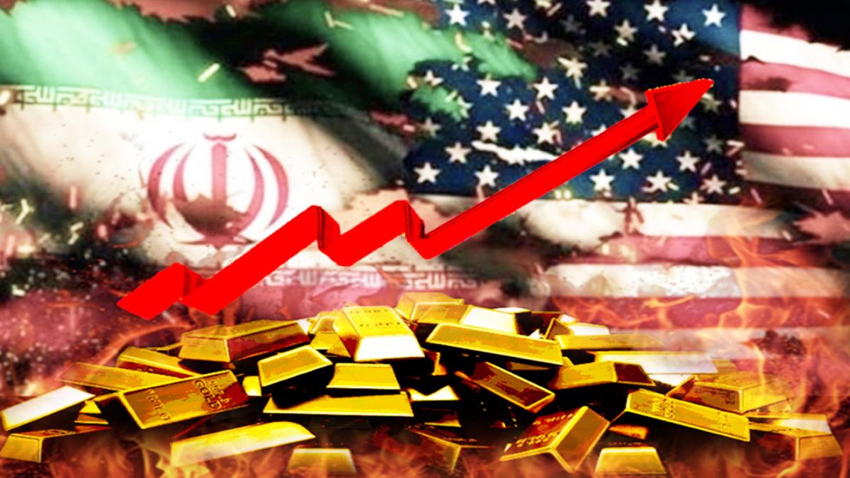 Giá vàng tăng khi Mỹ 'nóng mặt' với 'trò mèo vờn chuột' của Iran