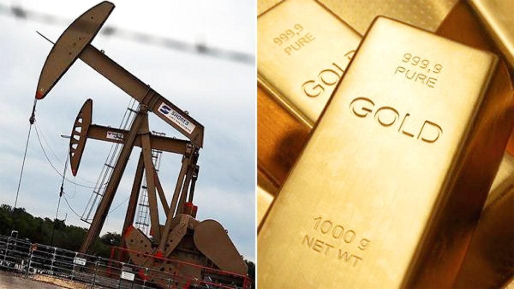 Giá dầu đang hồi phục và hỗ trợ cho vàng.
