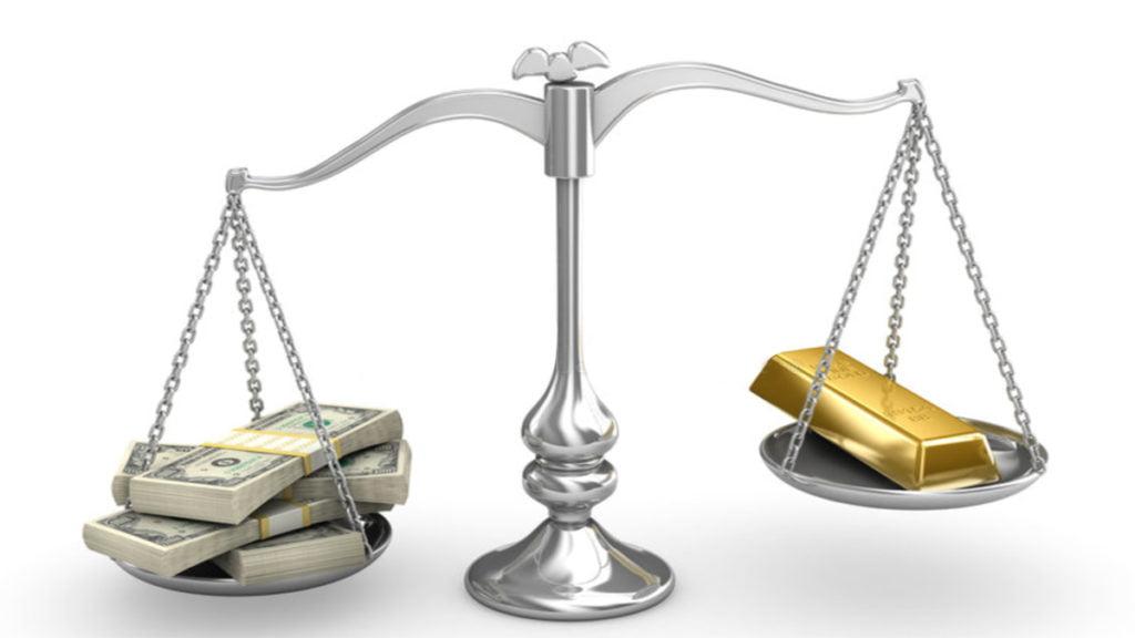 Vàng và USD