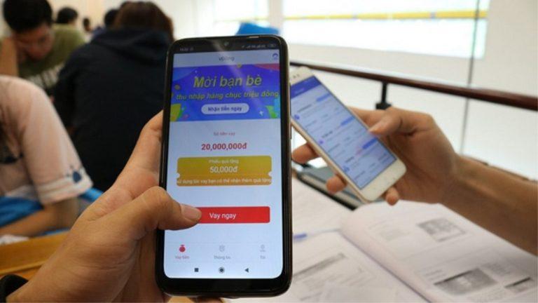 Nhan nhản bẫy 'tín dụng đen' qua app