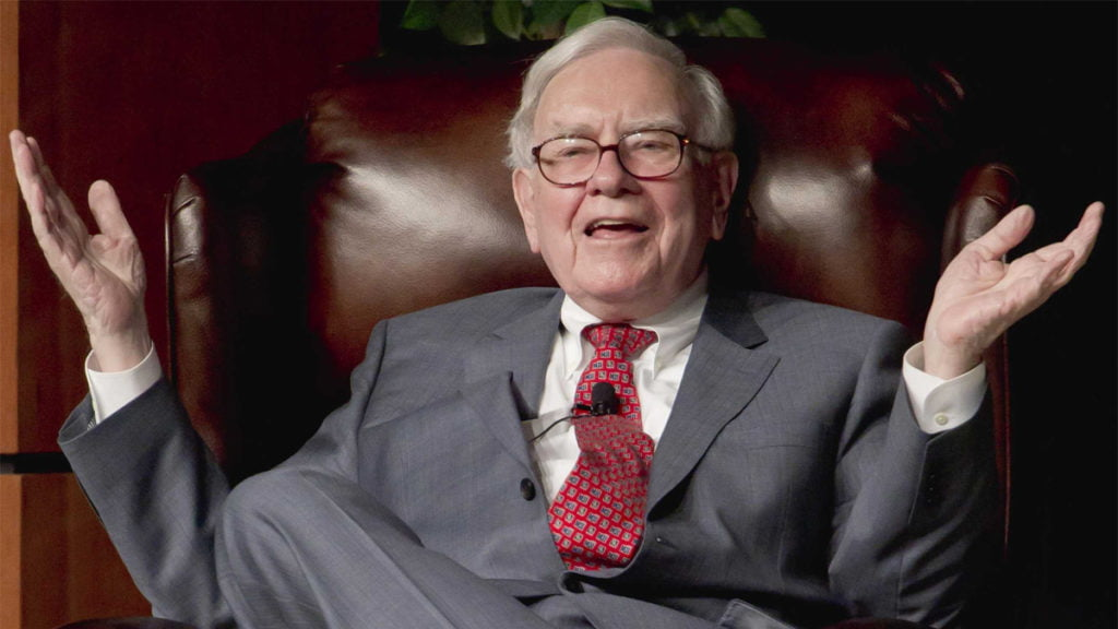 Nhà đầu tư huyền thoại Warren Buffett.