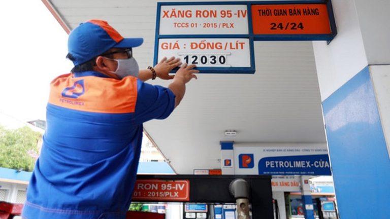 Giá xăng dầu tăng tiếp từ chiều 28/5
