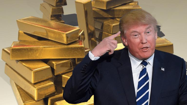 Giá vàng tăng vọt sau thông tin ông Trump nhiễm Covid-19