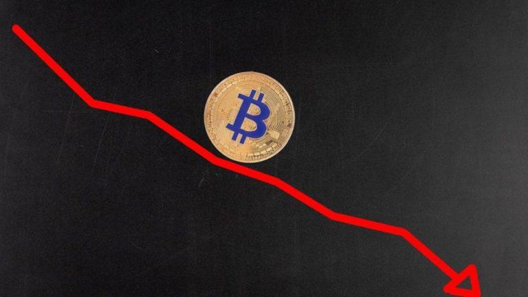 Áp lực bán tháo đẩy Bitcoin xuống đáy, thị trường rơi nhanh