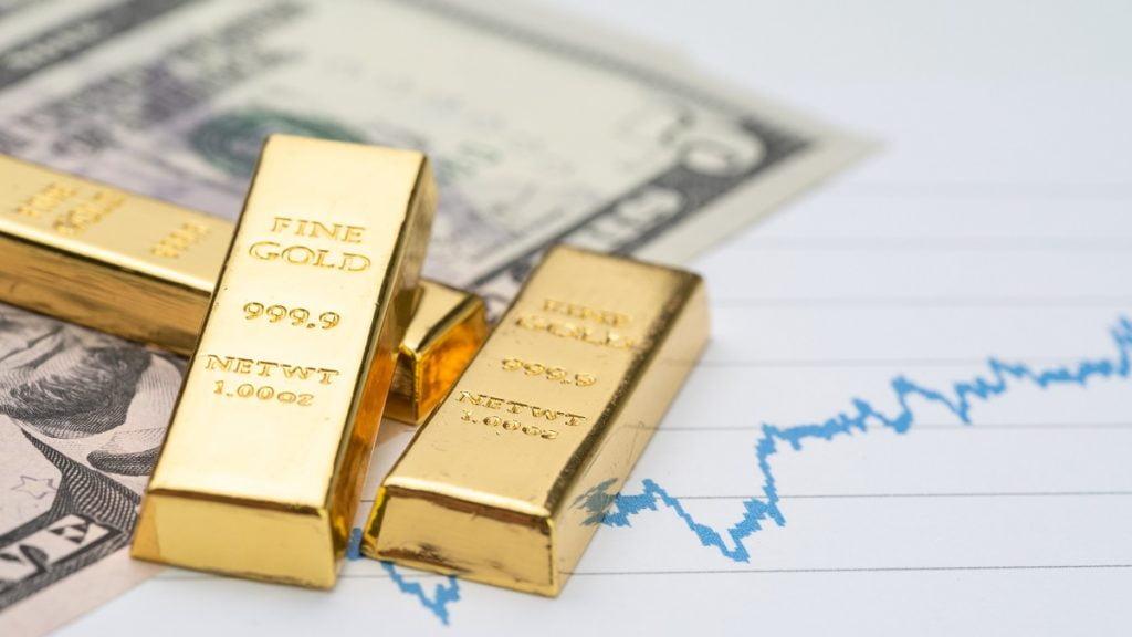Vàng là hàng rào chống rủi ro hoàn hảo cho nhà đầu tư chứng khoán